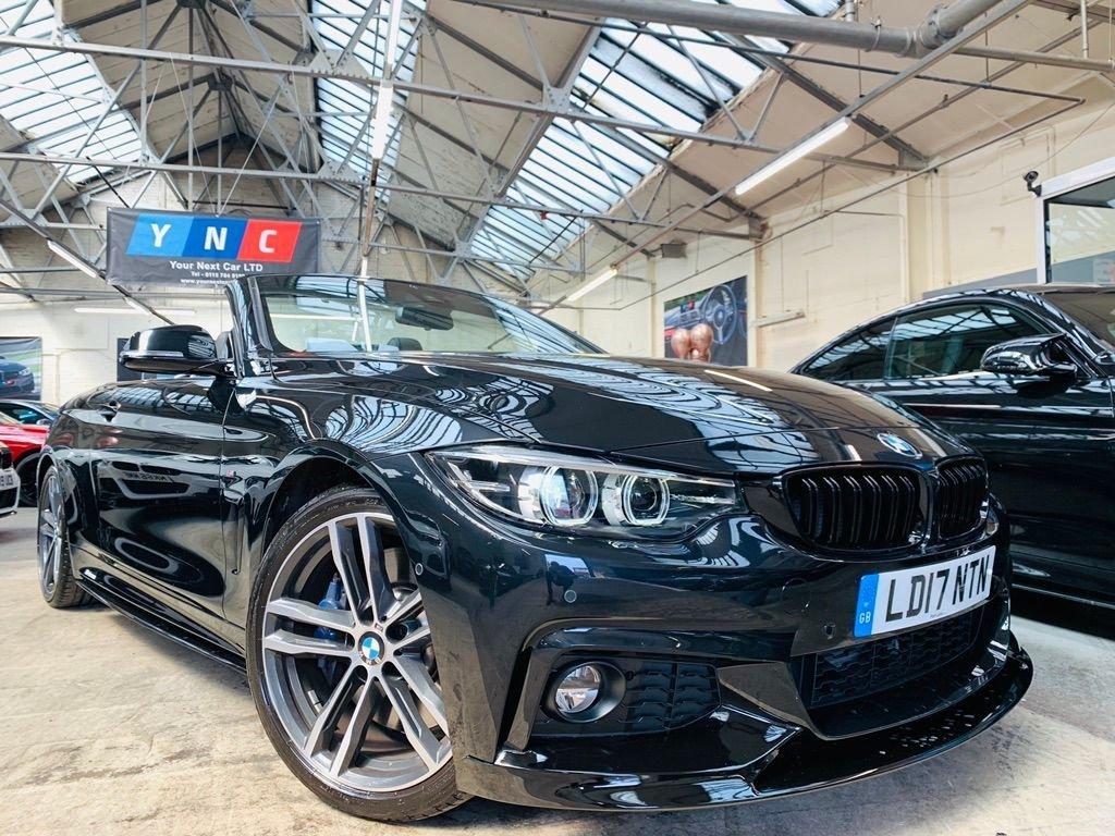 USED 2017 17 BMW 4 SERIES 3.0 430d M Sport Auto (s/s) 2dr PERFORMANCE KIT PLUS & COMF PK