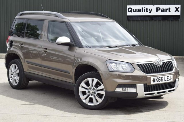 USED 2016 66 SKODA YETI 1.2 TSI SE L Outdoor DSG (s/s) 5dr CALL FOR NO CONTACT DELIVERY