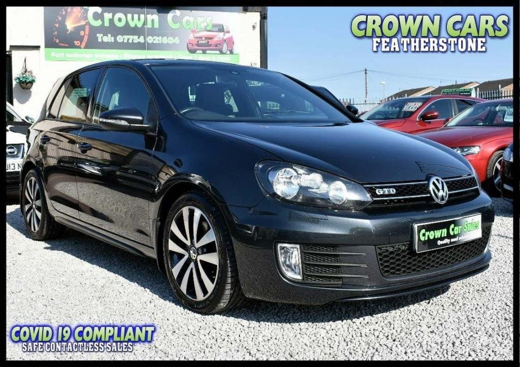 USED 2012 61 VOLKSWAGEN GOLF 2.0 TDI GTD 5dr AMAZING LOW RATE FINANCE DEALS