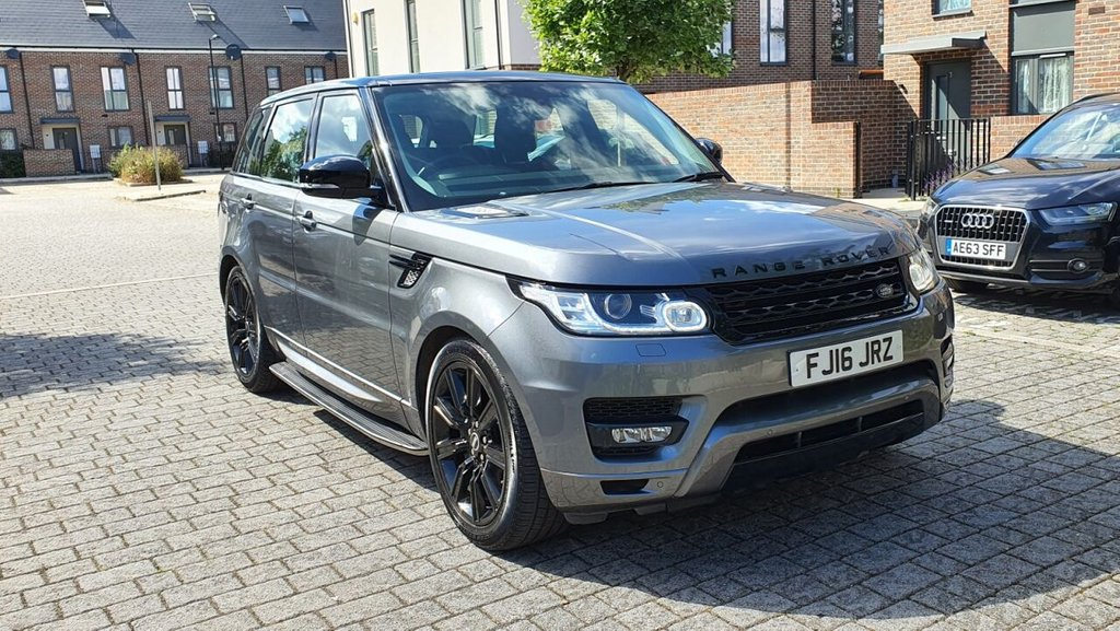USED 2016 16 LAND ROVER RANGE ROVER SPORT 3.0L SDV6 HSE DYNAMIC 5d AUTO 306 BHP FLRSH, DASH SATNAV, 5 SEATS, WARRANTY, NEW MOT, FINANCE