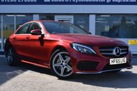 USED 2015 65 MERCEDES-BENZ C-CLASS 2.1 C250 D AMG LINE 4d 204 BHP NO DEPOSIT FINANCE AVAILABLE