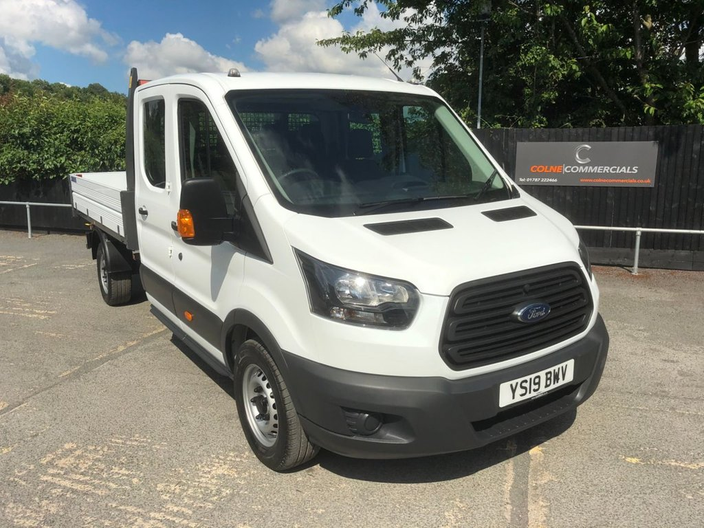 USED 2019 19 FORD TRANSIT 2.0TDCI T350 D/CAB TIPPER 1-STOP (DRW)(EURO 6)(130 PS)