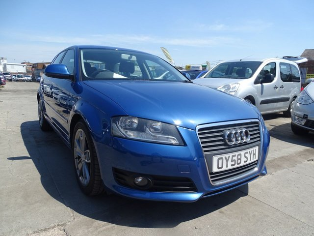 USED 2008 58 AUDI A3 2.0 TDI SPORT 5d DRIVES A1 FREE DELIVERY