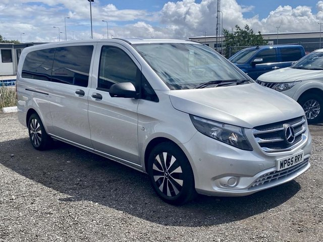 2015 65 MERCEDES-BENZ VITO 2.1 119 BLUETEC TOURER SELECT 5d 190 BHP