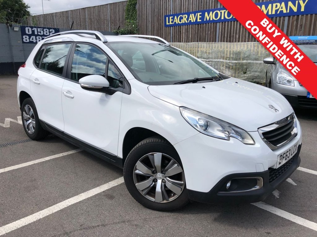 USED 2013 63 PEUGEOT 2008 1.2 ACTIVE 5d 82 BHP COMES WITH 12 MONTH MOT