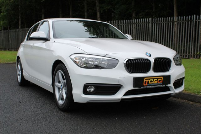 2016 66 BMW 1 SERIES 1.5 116D ED PLUS 5d 114 BHP