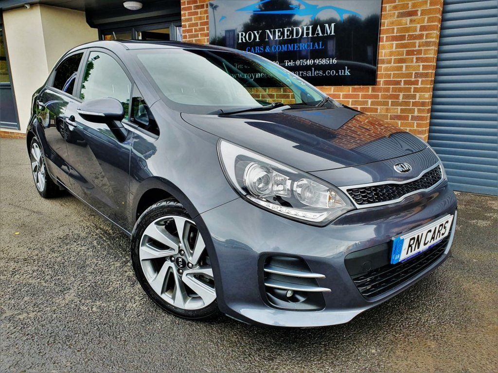USED 2016 66 KIA RIO 1.4 4 ISG 5DR 107 BHP ** GREAT SPEC - 1 LADY OWNER - FSH **
