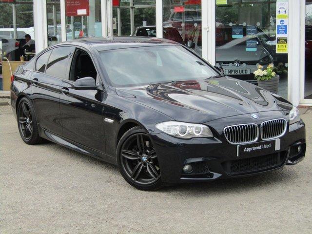 2011 11 BMW 5 SERIES 2.0 520D M SPORT 4d 181 BHP