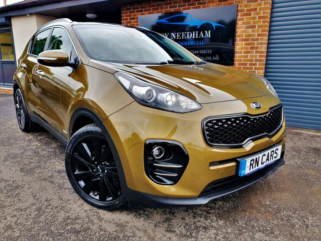 USED 2017 17 KIA SPORTAGE 2.0 CRDI KX-3 5DR 134 BHP *** RARE COLOUR - GREAT SPEC ***