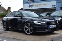 USED 2014 63 AUDI A6 2.0 TDI BLACK EDITION 4d 175 BHP COMES WITH 6 MONTHS WARRANTY