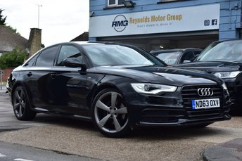 2014 AUDI A6 2.0 TDI BLACK EDITION 4d 175 BHP £13999.00