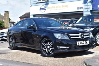 2012 MERCEDES-BENZ C-CLASS 1.6 C180 BLUEEFFICIENCY AMG SPORT PLUS 2d 154 BHP £10499.00