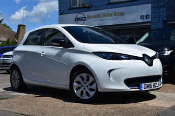2016 RENAULT ZOE FULL ELECTRIC DYNAMIQUE NAV 5d 92 BHP £7999.00