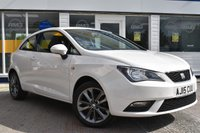 USED 2015 15 SEAT IBIZA 1.2 TSI I-TECH 3d 104 BHP COMES WITH 6 MONTHS WARRANTY