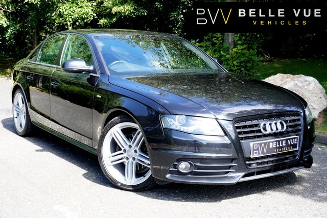 "USED 2011 11 AUDI A4 2.0 TDI BLACK EDITION 4d 141 BHP - FREE DELIVERY* *LOW MILEAGE! CRUISE CONTROL! 19"" ALLOY WHEELS!*"