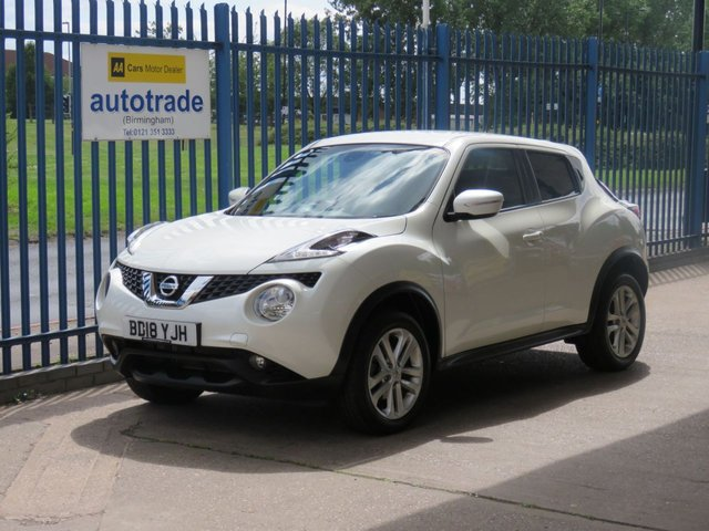 USED 2018 18 NISSAN JUKE 1.2 N-CONNECTA DIG-T 5 dr Sat nav Rear camera DAB Cruise Privacy ULEZ Compliant Finance arranged Part exchange available Open 7 days ULEX Compliant