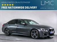 USED 2017 67 BMW 3 SERIES 2.0 330E M SPORT 4d AUTO 181 BHP FSH-BLUETOOTH-NAV-LEATHER-ALLOYS