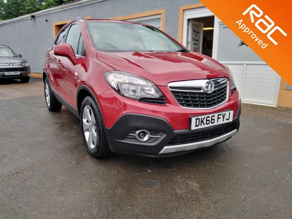 USED 2017 66 VAUXHALL MOKKA 1.6 SE CDTI ECOFLEX S/S 5d 134 BHP Full Leather, Heateed Seats, Parking Sensors, Bluetooth, Heated Steering Wheel