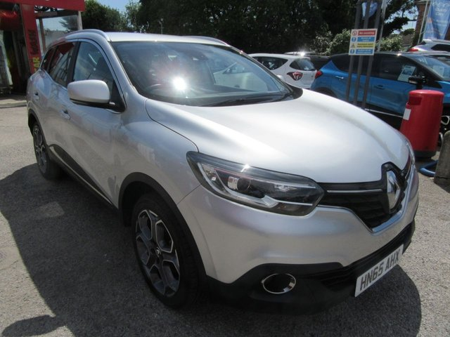 USED 2015 65 RENAULT KADJAR 1.6 DYNAMIQUE S NAV DCI 5d 130 BHP This car has many extras Alloys front fogs Sat Nav park assist Multimedia system Great to drive The car is priced well below market value as it has been registered as a total loss Details on request  Our prices are competitive in our local market area . We have workshop facilities .Free loan car use . We offer a service plan for just £12.50 per month details online . Part Exchange welcome . . Flexible finance arrangements AA warranty included . Book a test drive today Thanks for looking .