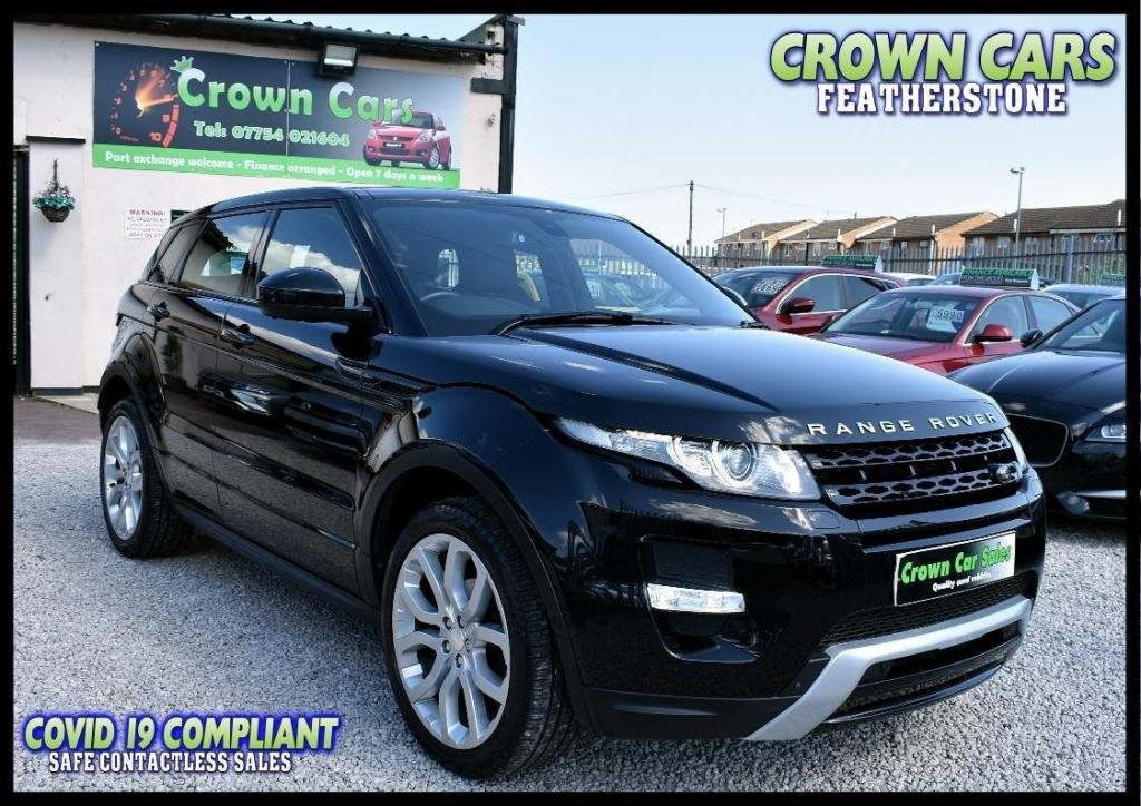 USED 2014 14 LAND ROVER RANGE ROVER EVOQUE 2.2 SD4 Dynamic AWD 5dr GOT TO BE THE BEST ONE BY FAR