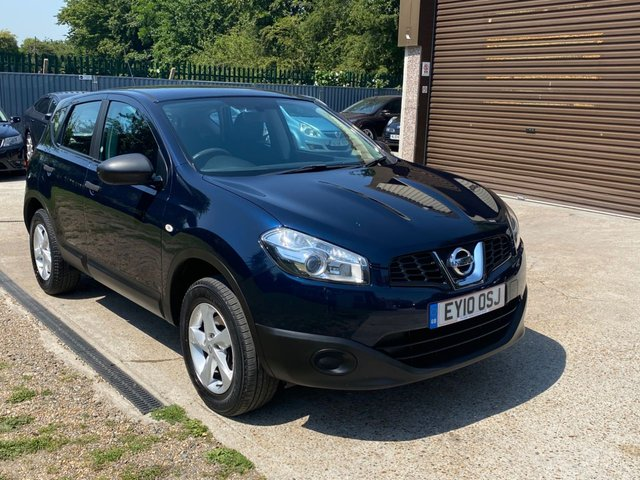 USED 2010 10 NISSAN QASHQAI 1.6 VISIA 5d 113 BHP ONE OWNER FROM NEW + FULL NISSAN SERVICE HISTORY