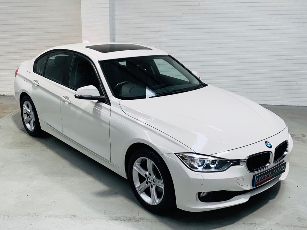 USED 2014 14 BMW 3 SERIES 2.0 320D SE 4d 182 BHP High Spec including Glass Sunroof, Xenon Headlights, Full Black Leather Interior, Heated Seats, Bluetooth, Sat Nav