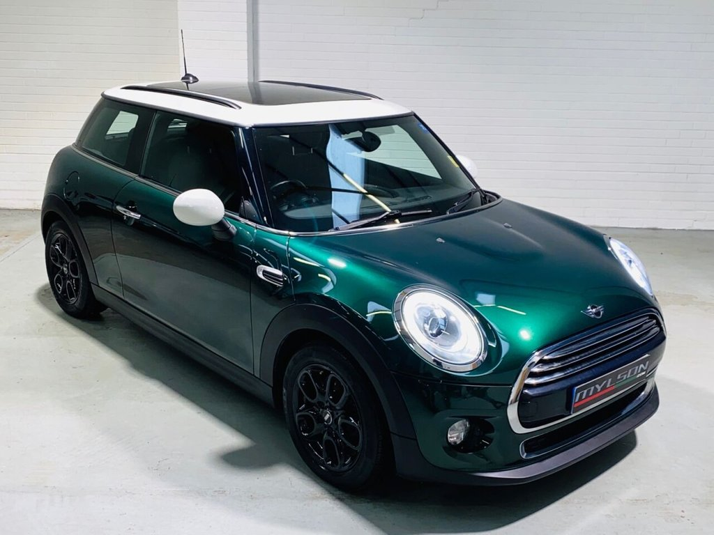 USED 2015 15 MINI HATCH COOPER 1.5 COOPER D 3d 114 BHP High Spec including Glass Roof, Chili Pack, Visual Boost. Zero Tax Model!