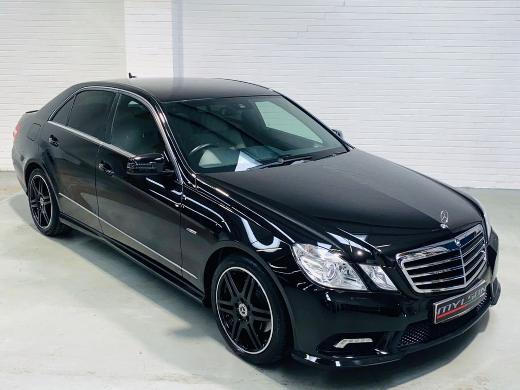 USED 2011 11 MERCEDES-BENZ E-CLASS 2.1 E220 CDI BLUEEFFICIENCY SPORT 4d 170 BHP Ultra Low Mileage, AMG Pack, Privacy Glass, Full Leather Interior, Heated Seats, Bluetooth