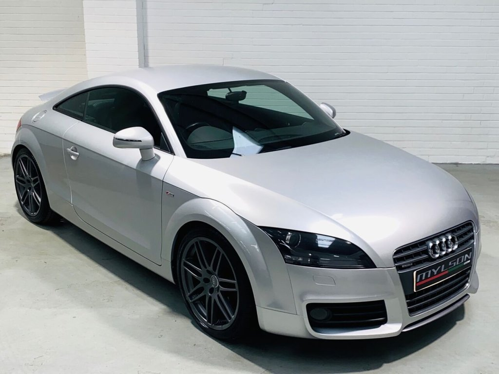 USED 2010 10 AUDI TT 2.0 TDI QUATTRO S LINE SPECIAL EDITION 2d 170 BHP BOSE Audio, 19in RS Wheels, Cruise Control, Full Service History