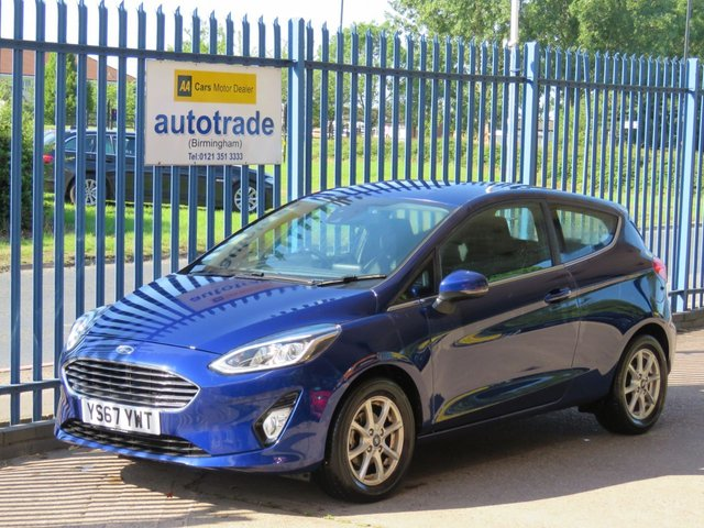 USED 2017 67 FORD FIESTA 1.1 ZETEC 3d 85 BHP Apple/Android Car Play, Cruise, Touchscreen, DAB bluetooth ANDROID/APPLE CAR PLAY, DAB, BLUETOOTH, TOUCHSCREEN, LED RUNNING LIGHTS, CRUISE CONTROL, LEATHER STEERING WHEEL.,
