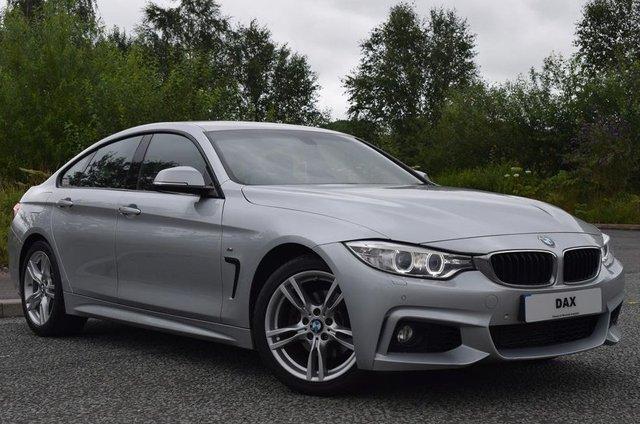 2015 15 BMW 4 SERIES 2.0 420D M SPORT GRAN COUPE 4d 181 BHP