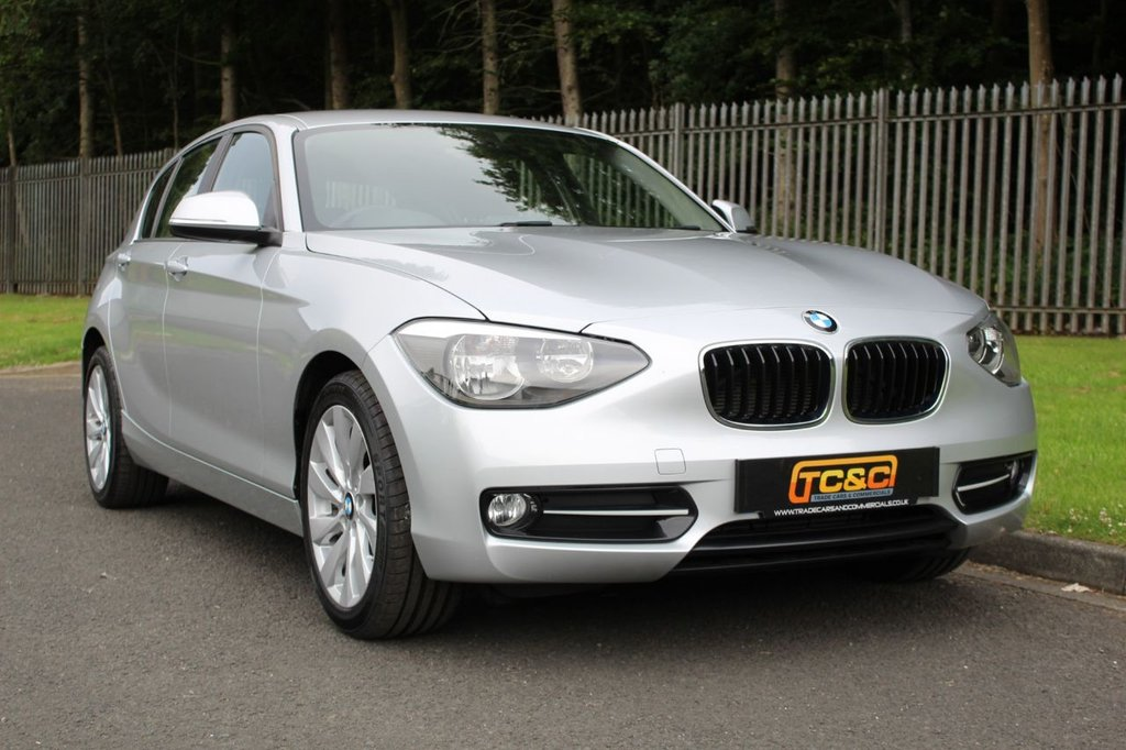 USED 2015 15 BMW 1 SERIES 2.0 116D SPORT 5d 114 BHP A LOW MILEAGE, LOW OWNER ONE SERIES WITH BMW DEALER SERVICE HISTORY!!!