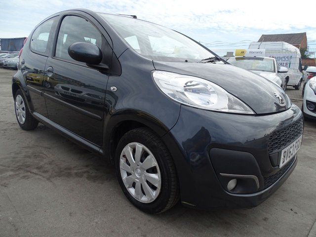 USED 2013 63 PEUGEOT 107 1.0 ACTIVE 5d 68 BHP LOW INSURANCE