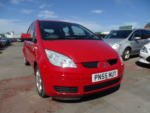 USED 2005 55 MITSUBISHI COLT 1.3 EQUIPPE 5d LOW INSURANCE