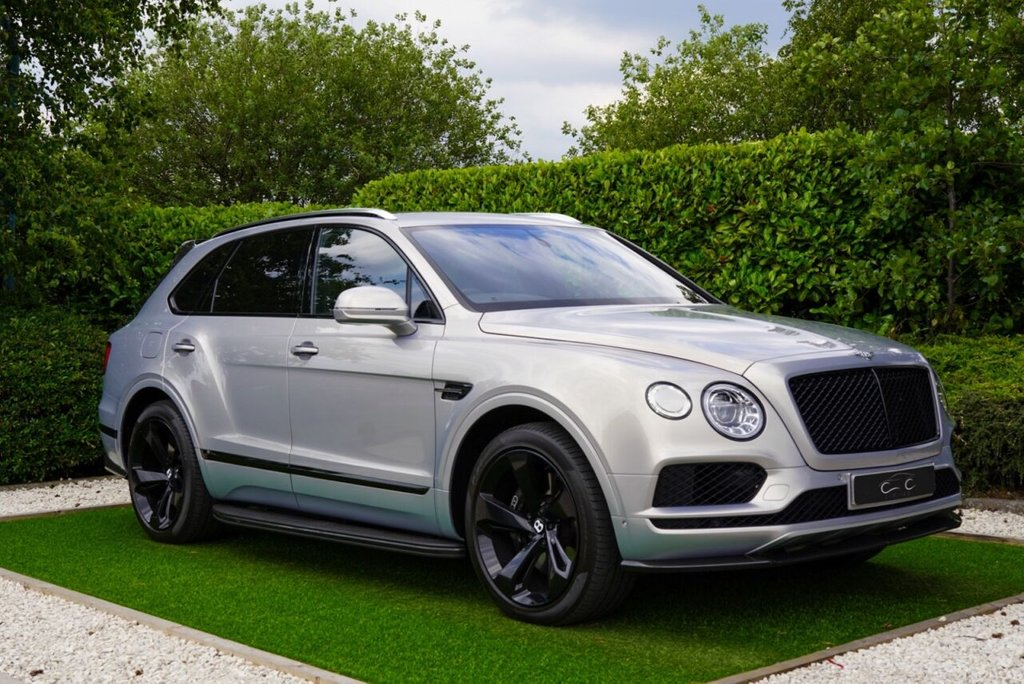 USED 2019 68 BENTLEY BENTAYGA 4.0 V8 5d 542 BHP VAT QUALIFYING Finished in Metallic Extreme Silver and Trimmed with Beautiful Beluga Hide + Contrast Linen Stitch and Embroidered Bentley Logos to Seat Facings This Fantastic SUV Comes with a Superb Specification to Include: Gloss Black 22 Inch Directional Alloy Wheels, Panoramic Glass Sunroof + Power Blind, Satellite Navigation + Bluetooth Connectivity, Leather Multi Function Steering Wheel with Contrast Linen Stitch, Bentley Dynamic Ride, Remote Garage Door Opener, Privacy Glass