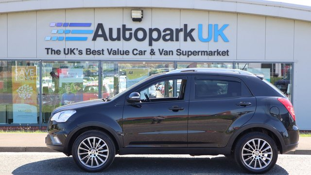 USED 2011 61 SSANGYONG KORANDO 2.0 EX 5d 175 BHP LOW DEPOSIT OR NO DEPOSIT FINANCE AVAILABLE