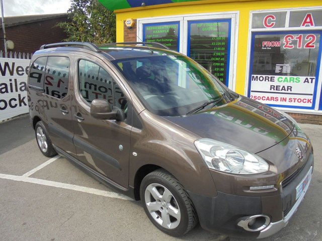 USED 2014 14 PEUGEOT PARTNER 1.6 HDI TEPEE OUTDOOR 5d 112 BHP **  JUST ARRIVED ** CALL 01922 494874**
