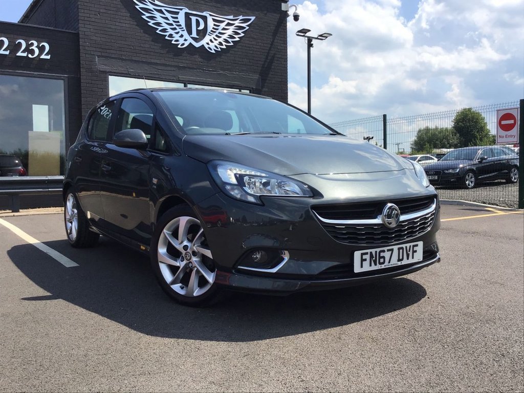 USED 2017 67 VAUXHALL CORSA 1.4 SRI VX-LINE ECOFLEX 5d 89 BHP LOW INSURANCE | HUGE SPEC