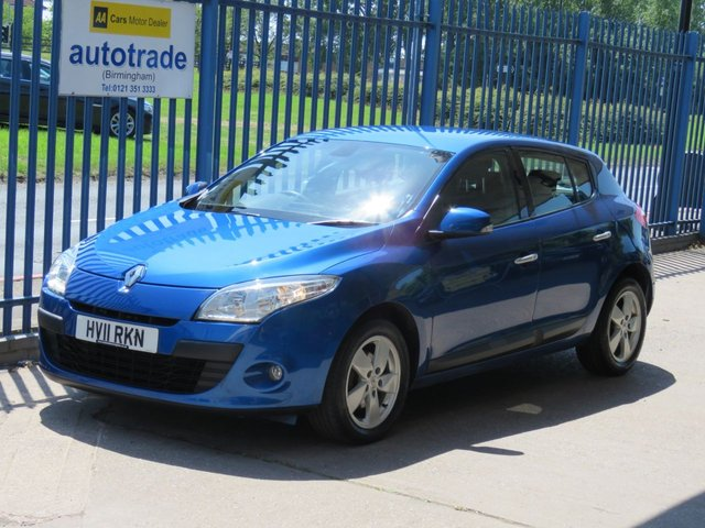 USED 2011 11 RENAULT MEGANE 1.6 DYNAMIQUE TOMTOM VVT 5dr 110 BHP Sat nav Cruise Alloys Fogs Finance arranged Part exchange available Open 7 days