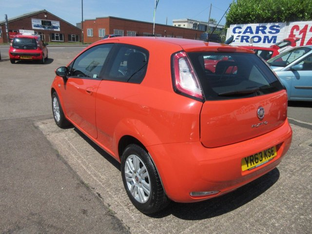 USED 2013 63 FIAT PUNTO 1.4 EASY 3d 77 BHP **JUST ARRIVED..01543 454566**