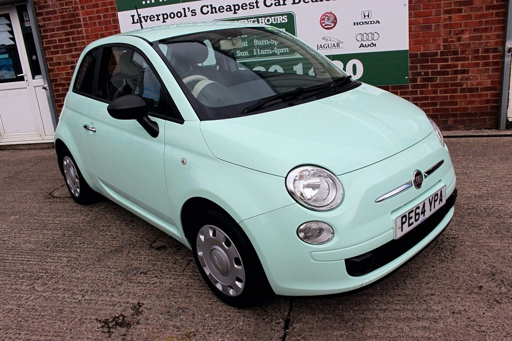 USED 2014 64 FIAT 500 1.2 POP 3d 69 BHP +SERVICED +LOW TAX +FULL MOT.