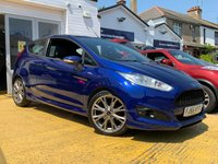 USED 2016 66 FORD FIESTA 1.0 ST-LINE 3d 124 BHP COMES WITH 6 MONTHS WARRANTY