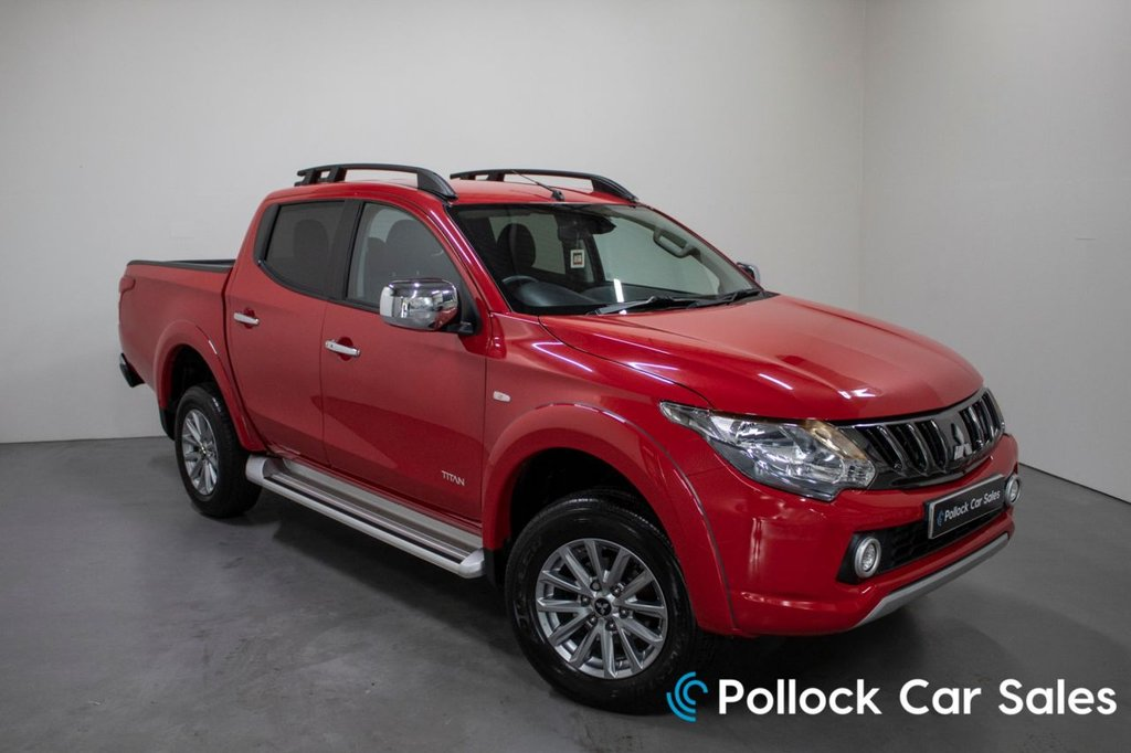 USED 2017 17 MITSUBISHI L200 TITAN 178BHP MANUAL NEVER TOWED NEVER TOWED, Excellent Condition