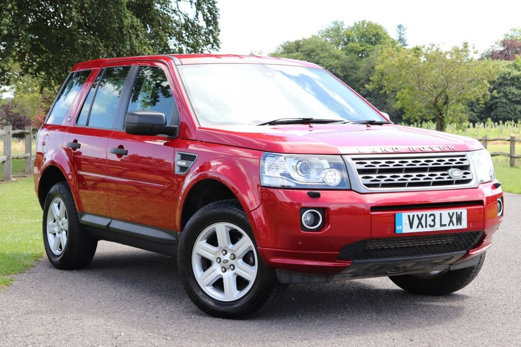 USED 2013 13 LAND ROVER FREELANDER 2.2 TD4 GS 5d 150 BHP Parking Aid+Cruise+Dab+Leather