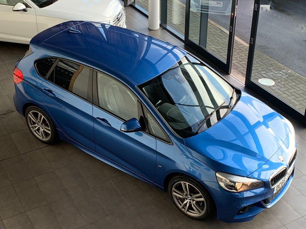 USED 2016 66 BMW 2 SERIES 2016/66 - 2.0 218D M SPORT ACTIVE TOURER 5d 148 BHP  �£30 ROAD TAX  65.7 MPG
