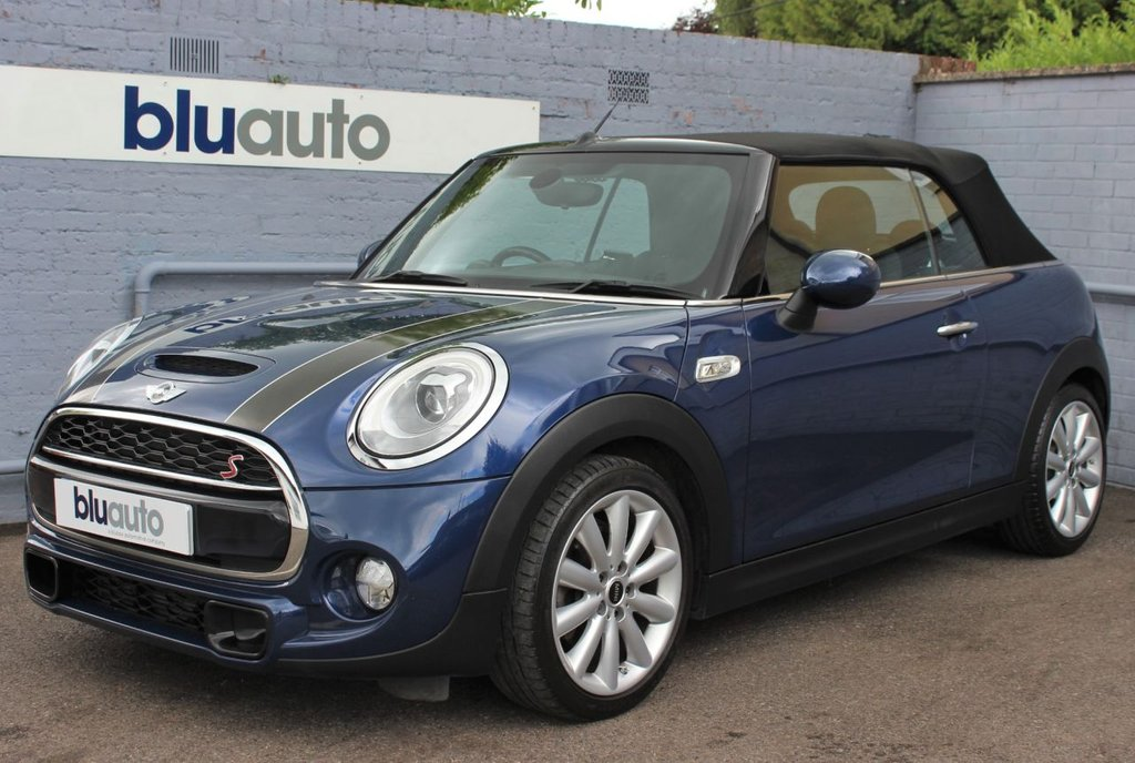 USED 2016 66 MINI CONVERTIBLE 2.0 COOPER S 2d 189 BHP Mini Service History, Excellent Condition, Low Mileage