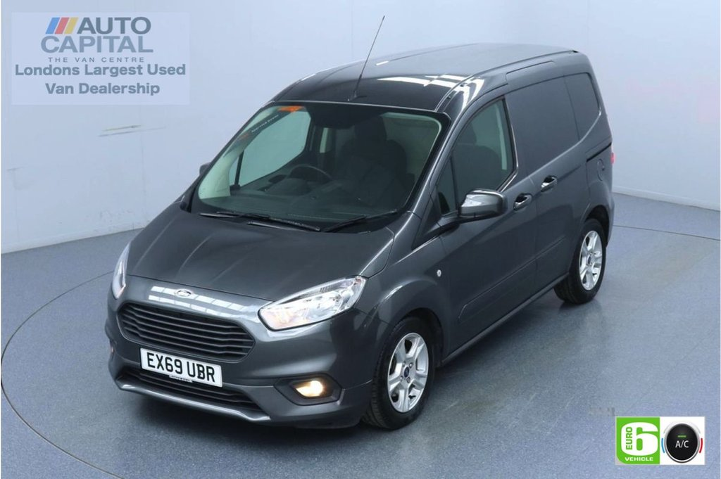 USED 2019 69 FORD TRANSIT COURIER 1.5 Limited TDCI 100 BHP Euro 6 Low Emission Finance Available Online | Air Con | Rear parking sensors
