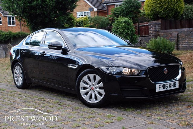 2016 16 JAGUAR XE 2.0d PRESTIGE [160 BHP] 4 DOOR SALOON (SUPER ECO)
