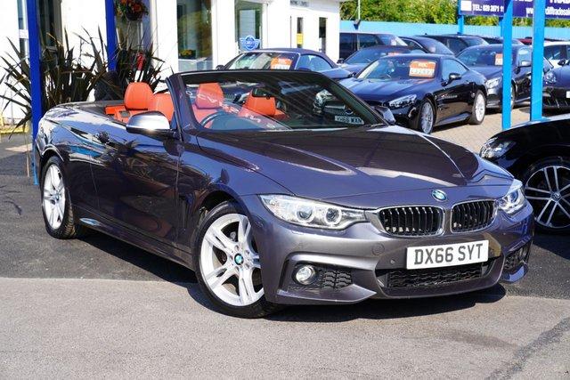 2016 66 BMW 4 SERIES 2.0 420D M SPORT 2d 188 BHP