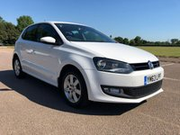 USED 2014 63 VOLKSWAGEN POLO 1.2 MATCH EDITION 5d 59 BHP